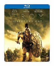 Troy (Blu-ray, Canadian Steelbook, Brad Pitt, Orlando Bloom) RegionFREE