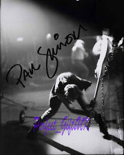 PAUL SIMONON THE CLASH SIGNED AUTOGRAPHED 10X8 REPRO PHOTO PRINT