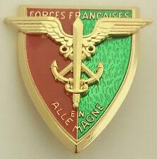 insigne brevet Forces françaises en Allemagne F.F.A FFA - Fabrication DELSART
