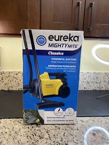 Eureka 3670 Lightweight Mighty Mite 9 Amp Canister Vacuum - Yellow New