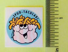 Vintage 80s Scratch & Sniff GLOSSY Trend SPUD-TACULAR Sticker~POTATO~Rare~.99