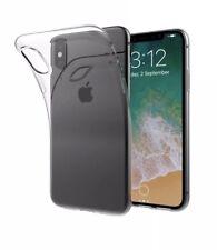 IPhone TPU Gel Silicona Transparente Estuche X