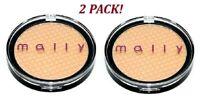 Mally Cosmetics Liquifuse Powder Foundation 0.2oz Medium Tone Sealed Lot of 2