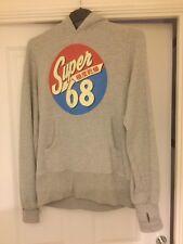 Superdry mens hoodie size medium with thumbholes