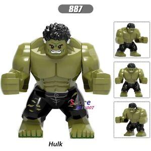 Single Endgames Big infinity wars size super hero Hulk building blocks Kid Toys