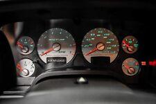 04-05 Dodge Ram 1500 SRT10 V10 Viper Instrument Gauge Cluster Speedometer Tach