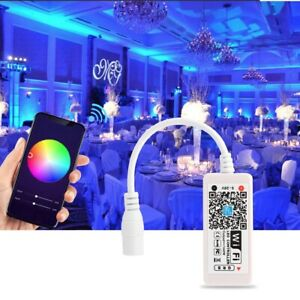 WiFi RGB Controller DC5-28V for Constant-current LED By Smart Phone APP Control