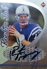 PEYTON MANNING 1998 Collectors Edge Rookie Ink Denver Broncos autograph signed