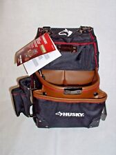 Husky 3-Pocket Framer Pouch with Leather - HOME DEPOT GP 46666N14 - NEW