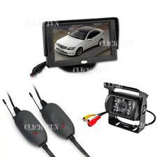 "Wireless Car Reversing Rear View CCD Camera Parking Kit + 4.3"" LCD TFT Monitor"