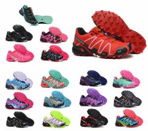 Outdoorschuhe Salomon Speedcross 3 Damen Laufschuhe Cross-Schuhe Hikingschuhe *