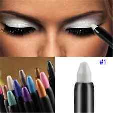 Pro Highlighter Glitter White Eyeshadow Pencil Eye Shadow Eyeliner Pen  Cosmetic
