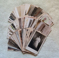 Mixed Lot of 64 Postcards ~ Variety of Images ~ People, Places, Holiday