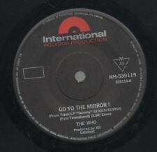 """THE WHO  Rare 1969 Australian Only 7"""" OOP Polydor Rock Single """"Go To The Mirror"""""""