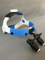 4X 6X 420mm Medical Dental Surgical Headband Binocular Loupes Glasses Magnifier