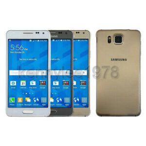 """Samsung Galaxy Alpha G850 32GB 4.7"""" Factory Unlocked Smartphone At&t T-mobile"""