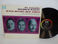 MAVIS RIVERS & RED NORVO We Remember Mildred Bailey LP Vee Jay VJ-1132 (1964)