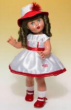 Mariquita Perez vestido shantu blanco y rojo. (50199)