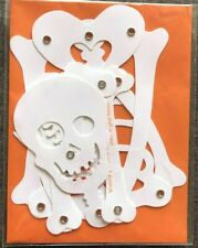 Papyrus Halloween Card - Poseable Skeleton with Articulated Limbs - OPENS BIG!