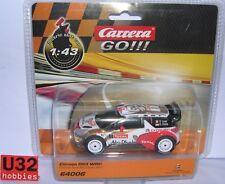 CARRERA GO!!! 64006 CITROEN DS3 WRC #1 TOTAL ABU DHABI S.LOEB