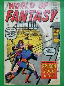World Of Fantasy #16 Steve Ditko Jack Kirby Marvel / Atlas Comics 1959 FR