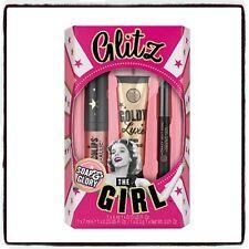 SOAP & GLORY Glitz the Girl Gift Set Kohl Matte Lip Cream Face Glitter FREE P&P