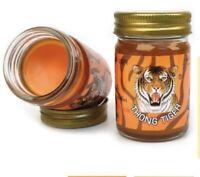 50g x 1 Original TIGER Yellow Balm Thai Massage Ointment Relief Muscle Ache Pain