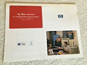 2003 HEWLETT PACKARD HP MAC-CONNECT PRODUCT GUIDE LIST• COMPUTER HISTORY