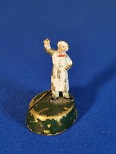 ANTIQUE AUSTRIAN KUHN BRONZE TINY MINIATURE COLD PAINTED MAN FIGURINE c.1907