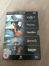 Brand New Ubisoft Classics PC Dvd Rom Assassin's Creed Rayman 3 Farcry Prince