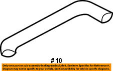 FORD OEM Radiator-Hose & Tube 1L2Z8C396AA