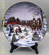 1991 Budweiser Season's Best Holiday Plate