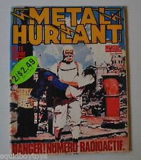 METAL HURLANT No.16 French Comic Magazine (HEAVY METAL) 1977 Druillet, Moebius