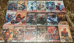Amazing Spider-Man Vol. 3 1-18 Near Complete Lot Run Spider-Verse Missing #4
