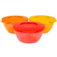 Brand New Tupperware Click Bowls/ stackable Set Of 3 - 425ml - Free Shipping