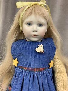 Roche Rare Artist Doll #168 All Original,  1991 New Condition, Original Tag