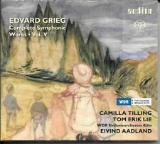 SACD Edvard Grieg `Orchesterwerke Vol. 5` Neu/New Camilla Tilling,Lie,Aadland
