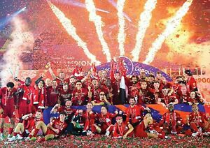 Liverpool FC Poster NEW Champions 2020 Premier League Print A3