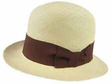 c935f543543cd Stetson Sophie Natural Straw Hat Fedora Size Medium
