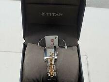 NEW Ladies Watch Titan  NJ9716BM01E Case Shape Square 20mm Color Multi-color