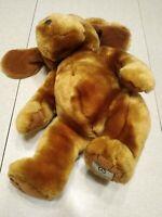 "Mercedes Benz Herrington Teddy Bears Dog Plush 10"" Brown Stuffed Animal"