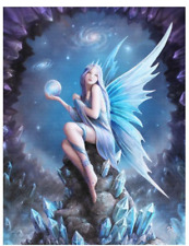 Stargazer Anne Stokes Canvas Wall Plaque 19cm X 25cm