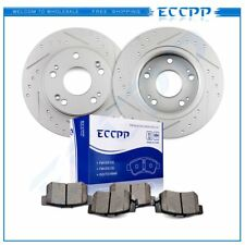 Fits 2003 -2007 Honda Accord 2004-2008 Acura TSX Rear Brake Rotors Ceramic Pads