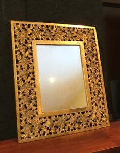 Antique Bradley & Hubbard Bacchus Wall or Table Mirror Beveled Glass
