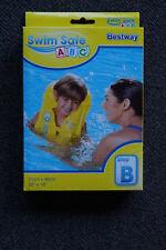 Bestway Schwimmweste gelb - Step B - 51 x 46 cm
