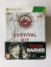 Tomb Raider (2013) - Xbox 360 - Survival Kit Collector's Edition NEW sealed game