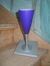OLIGO Designer Wandleuchte 'Sekt oder Selters' Glas Dekoration blau Lichtdesign