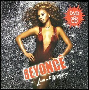 """BEYONCE """"LIVE AT WEMBLEY"""" 2004 PROMO POSTER/FLAT 2-SIDED 12X12 ~RARE~ HTF *NEW*"""