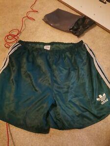 Vintage 80's  Adidas Shiny Nylon Shorts Glanz D9