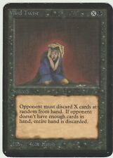 Alpha MTG  Mind Twist   Magic Rare